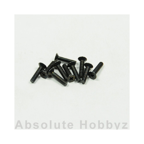 Kyosho 1-S32612 Flat Head Screw(M2.6x12) (10pcs)