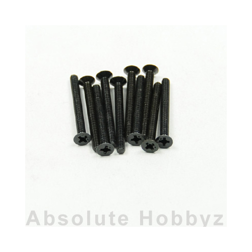 Kyosho Flat Head Screw(M3x30/10pcs)