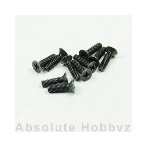 Kyosho Flat Head Screw(M4x15/10pcs)