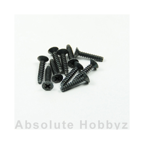 Kyosho TP Flat Head Screw(M4x20/10pcs)