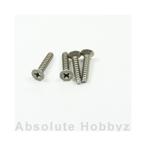 Kyosho TP Flat Head Screw(Titanium/M4x20/4pcs)