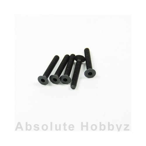 Kyosho Flat Head Screw(Hex/M4x25/5pcs)