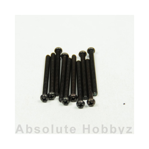 Kyosho Round Screw (M2.6x30/10pcs)