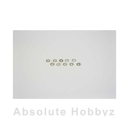 Kyosho Washer(Spring/M3x6x1.5/10pcs)