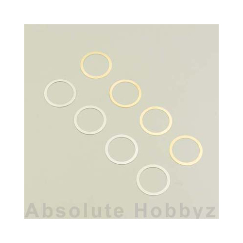 Kyosho 12x15mm Shim Set (10)