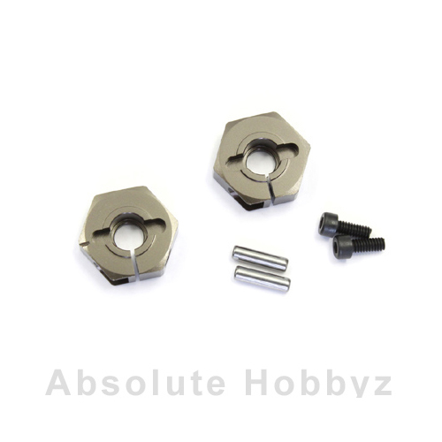 Kyosho Clamp Wheel Hub (45/Gunmetal)