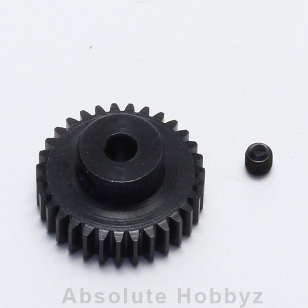Kyosho Lightweight Steel Pinion For Stock Class Racing (1/48P)(34T)