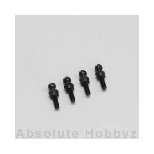 Kyosho 4.8mm Ball Stud (High Mount Type) 4pcs
