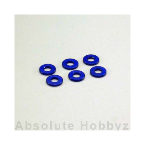 Kyosho Aluminum Color (3x7x1/Blue/6pcs)