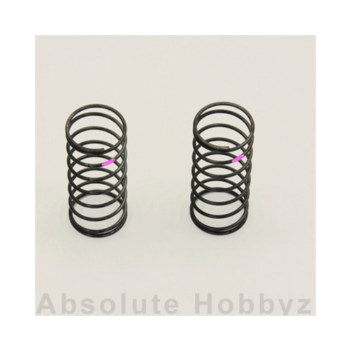 Kyosho BB Fr. Shock Spring(Red/Medium) 2pcs