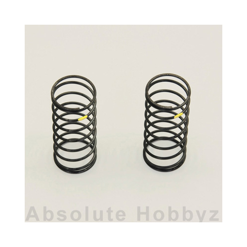 Kyosho BB Fr. Shock Spring (Yellow/Hard) 2pcs