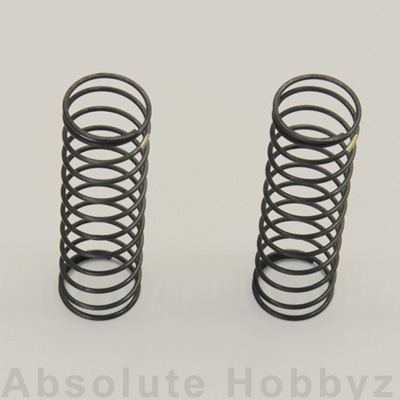 Kyosho Big Bore Rear Shock Spring Set (Gold / Medium) (2)