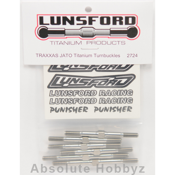 Lunsford Traxxas Jato Turnbuckle Kit (6)