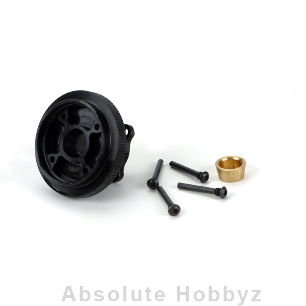 Losi Racing Flywheel & Collet, Steel, 4 Shoe: 8B, 8T