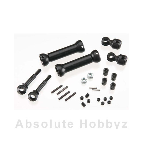 MIP Racing X-Duty CVD Kit with Keyed Axles, Rear, Traxxas Slash 4x4