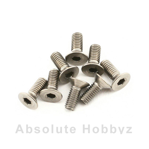 Mugen Sjg 3X8T F/H Titanium Screw (8pcs)