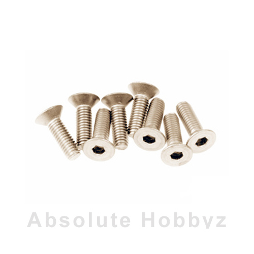 Mugen Sjg 3X10T F/H Titanium Screw (8Pcs)