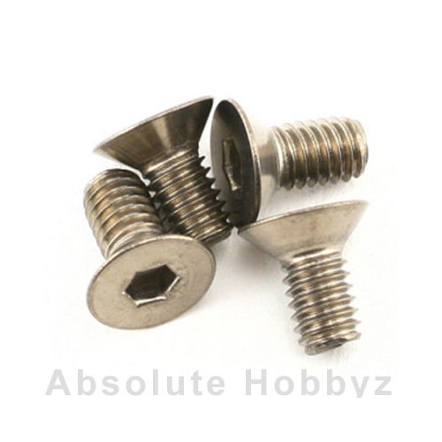 Mugen Sjg 4X8T F/H Titanium Screw (4pcs)