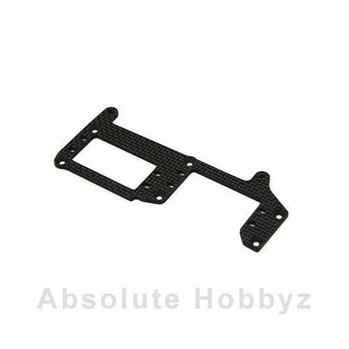 Mugen Racing Graphite Radio Tray MBX:6R