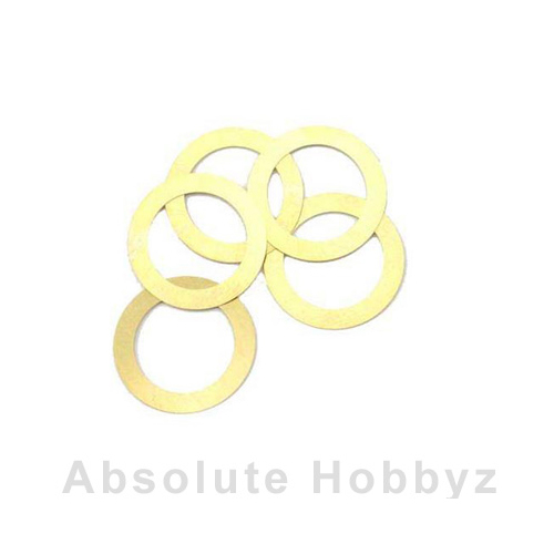 Novarossi Head Gasket Shim 3.5cc Long Stroke 0.15mm/.006in Brass (5pcs)