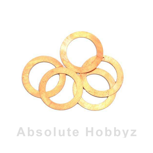 Novarossi Head Gasket Shim 3.5cc Long Stroke 0.20mm/.008in Copper (5pcs)