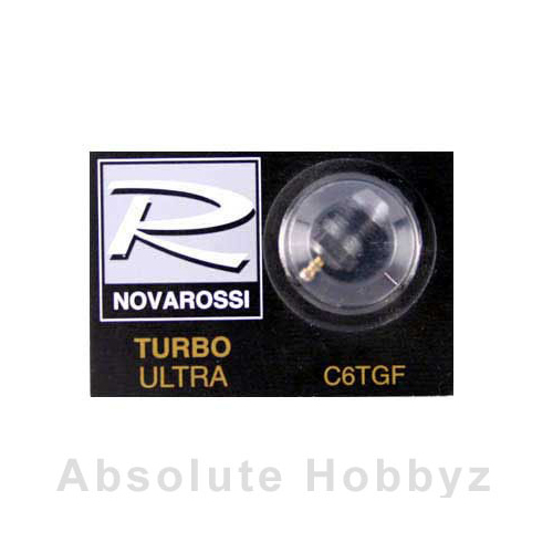 Novarossi Turbo #6 Short Body Ultra Glow Plug (Medium)