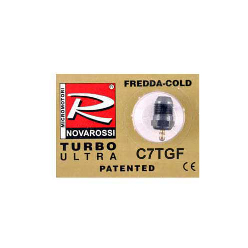 Novarossi Turbo #7 Short Body Ultra Glow Plug (Cold)