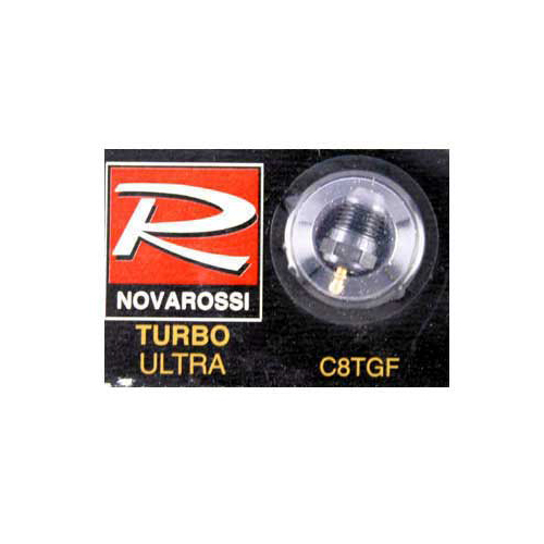 Novarossi Turbo #8 Short Body Ultra Glow Plug (Very Cold)