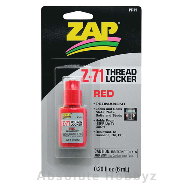 PT71 Red Thread Locker .20 oz