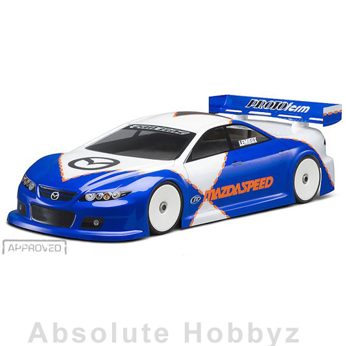 Protoform Mazdaspeed6 Light Weight Clear Body 190mm