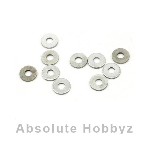 ProTek R/C 3x8x0.5mm Clutch Bell Stop Washer (10)