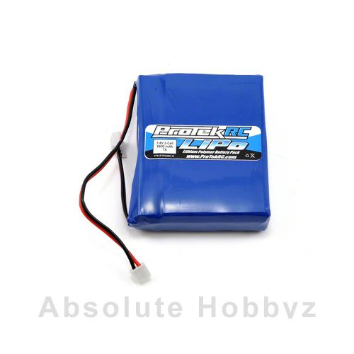 ProTek R/C Li-Poly Spektrum DX8 Transmitter Battery Pack (7.4V/3800mAh)