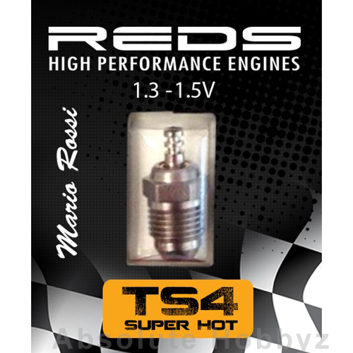 Reds Racing Glow Plug Turbo Special (TS4) Super Hot