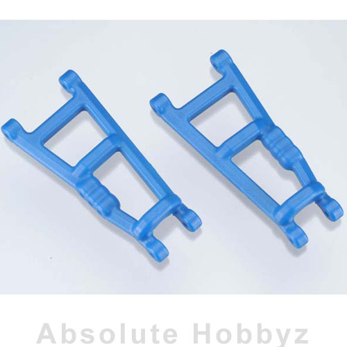 RPM Rear A-Arms Blue Electric Rustler/Stampede (2)