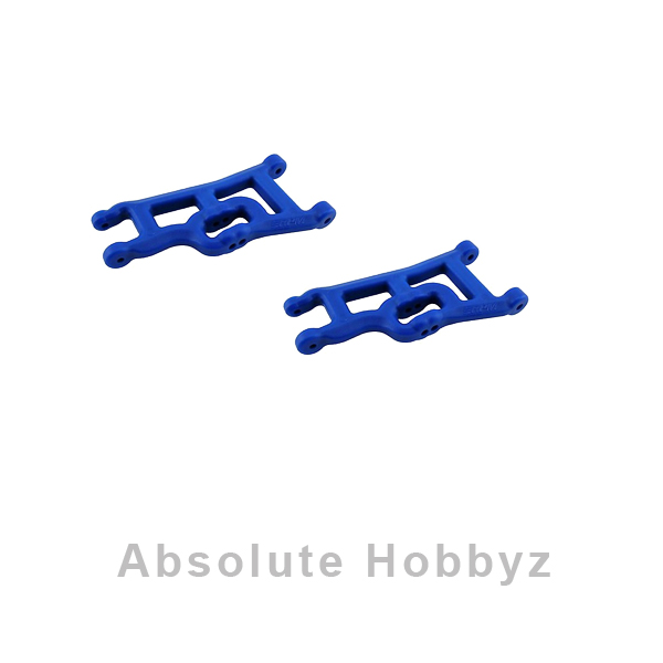 RPM Front A-Arms Blue Rustler/Stampede/Slash (2)