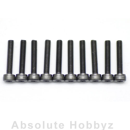 Serpent 3x16mm Flat Head Screw (10)