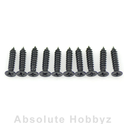 Serpent  Screw Phillips Countersunk Widethread 2.5x12 (10pcs)