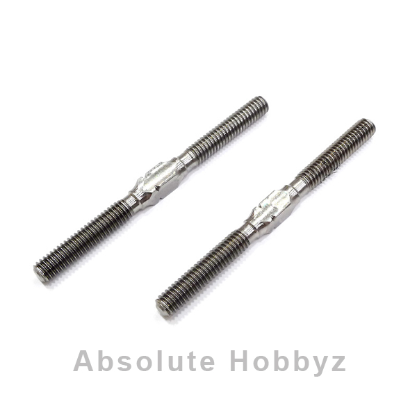 Serpent 4x92mm Titanium Steering Link Turnbuckle Set (2)