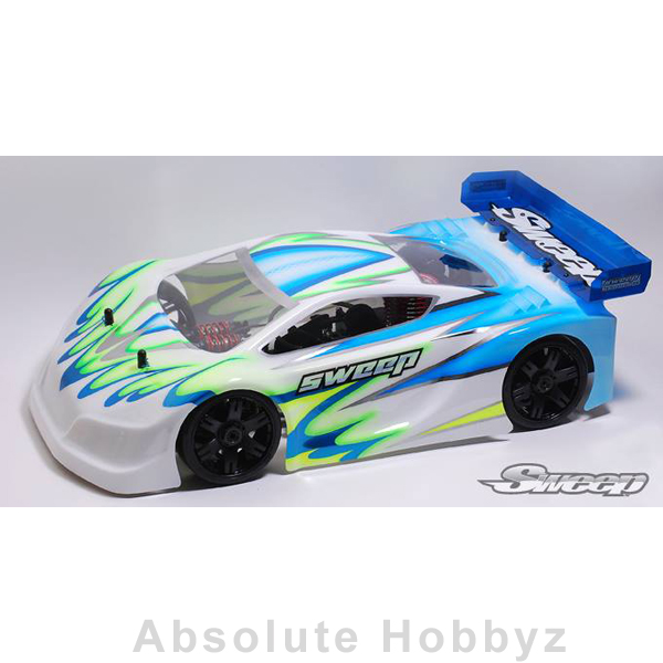 Sweep Racing GT8 Body P1L (Body Clear)