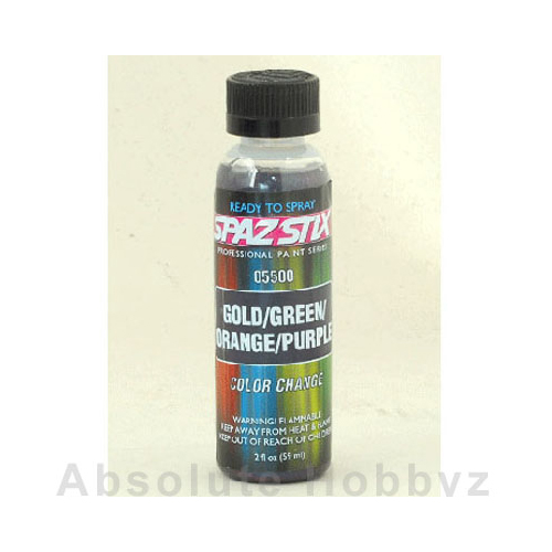 Spaz Stix Color Changing Paint Gold  (2oz Bottle)