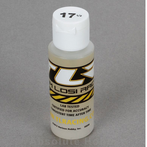 Team Losi Racing Silicone Shock Oil, 17.5 Wt, 2 Oz