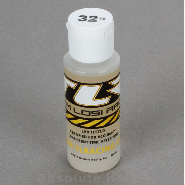 Team Losi Racing Silicone Shock Oil, 32.5 wt, 2 oz