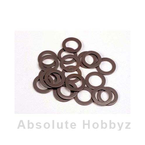 Traxxas Teflon washers, 5x8x0.5mm (20) (use with ball bearings)