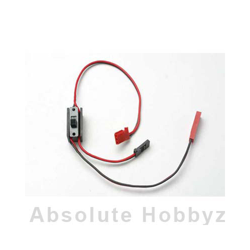 Traxxas Wiring harness for RX Power Pack, Revo (includes on/off switch and charg
