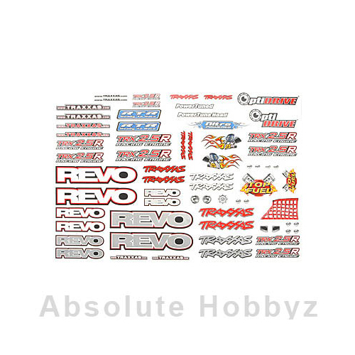 Traxxas Decal Set Revo