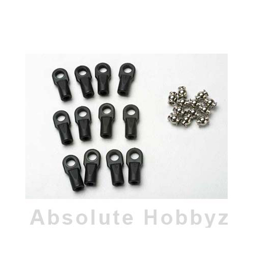 Traxxas Revo Large Rod Ends w/Hollow Balls (12)