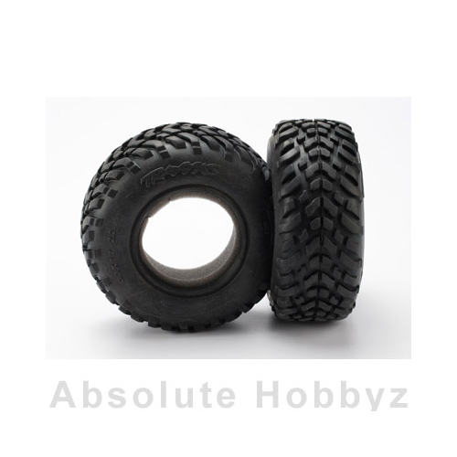 Traxxas S1 Compound Racing Tires Slash tread w/foam inserts (2)