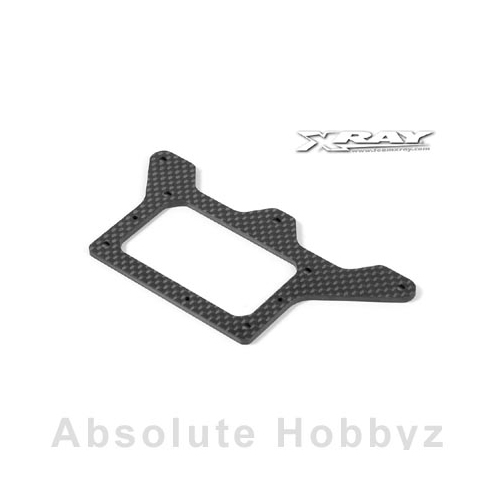 XRAY X12 Graphite 2.5mm Rear Pod Lower Plate