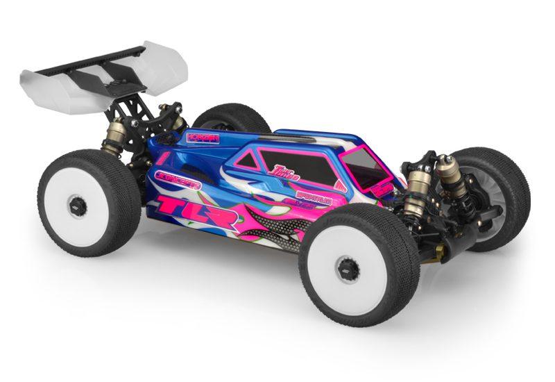 8IGHT-E 4.0 Team Losi Racing 240007 Body Set Clear