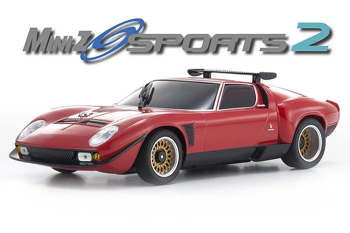 Kyosho 32242R,B MINI,Z MR,03S2 Lamborghini Jota SVR Red Ready Set